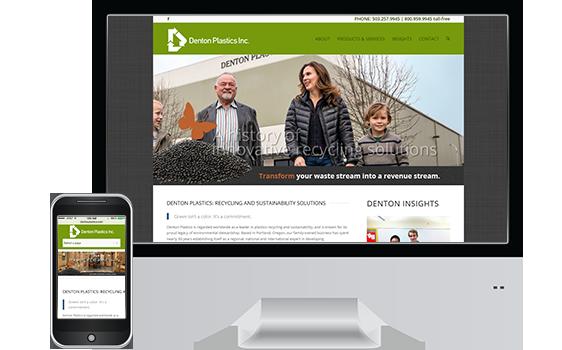 Denton Plastics Inc - Web Design Client
