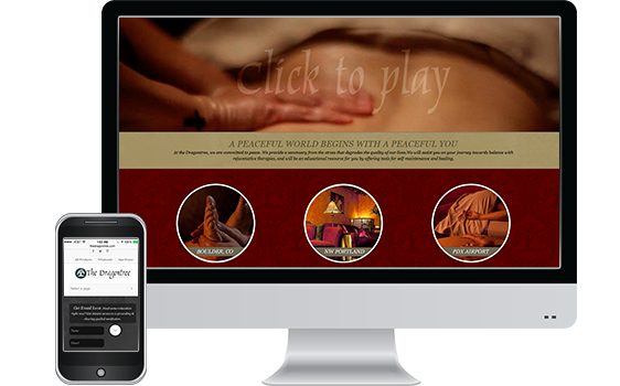 Dragontree Spa - Web Design Client