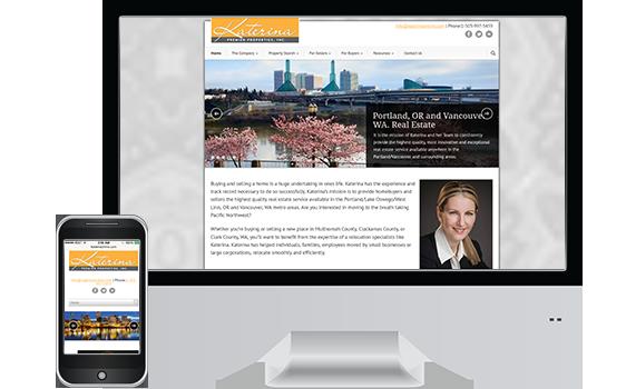 Katerina Real Estate - Web Design Client