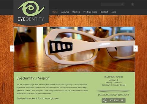 Eyedentity - Web Design Client
