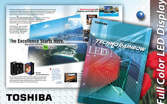 Toshiba - Graphic Design Client