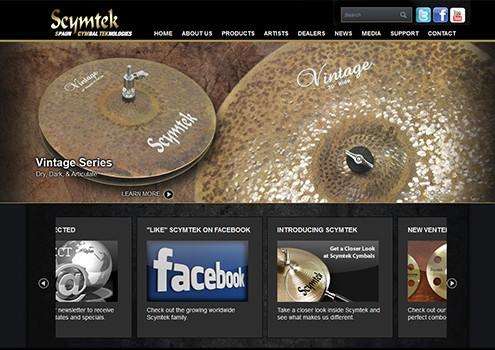 Scymtek - Web Design Client